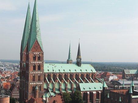 Lübeck, Dom, Downtown, Hanseatic League, Hanseatic City