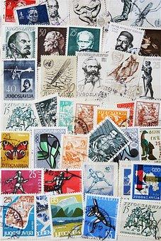 Stamps, Vintage, Post, Former, Nostalgia, Old