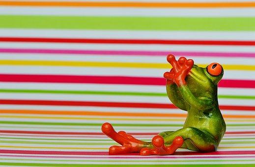 Frog, Fig, Do Not Speak, Scared, Fear, Funny, Cute, Fun