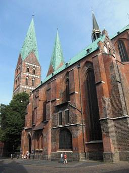 Lübeck, Dom, Hanseatic League, Hanseatic City, Church