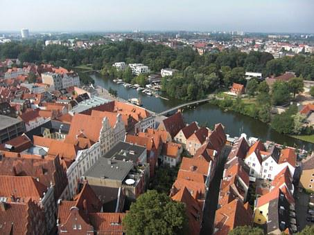 Lübeck, Old Town, Hanseatic League, Hanseatic City