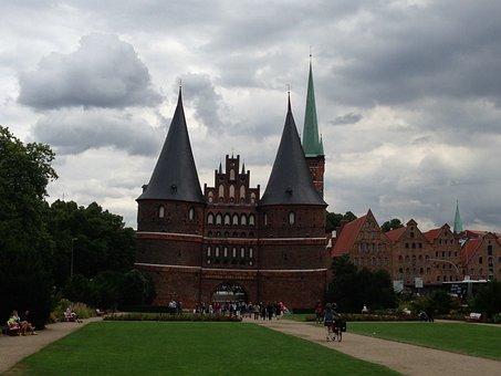 Lübeck, Holsten Gate, Historically, Landmark, City Gate