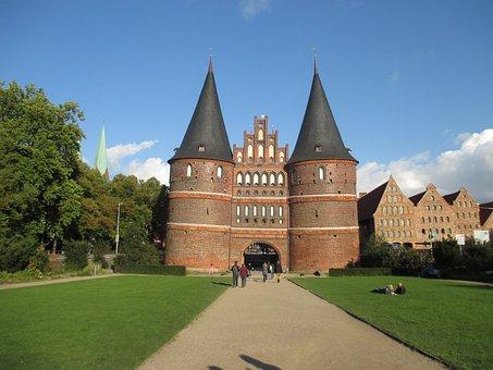 Holsten Gate, Lübeck, Historically, Landmark, City Gate