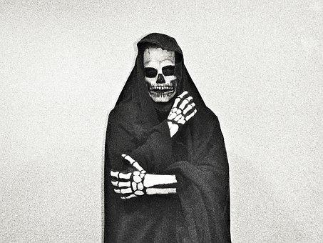 Death, Scary, Skull, Spooky, Grim Reaper, Horror