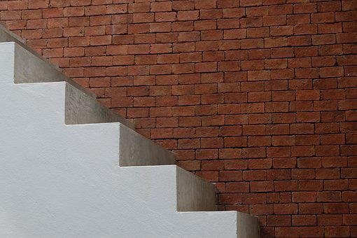 Stair, Wall, White, House, Interior, Home, Room