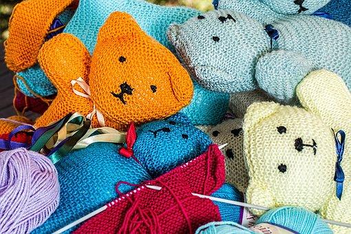 Knitting, Handwork, Hobby, Handmade, Wool, Color, Knit