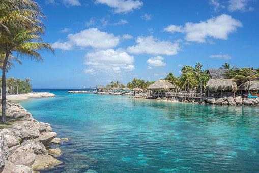 Lagoon, Curacao, Island, Blue, Caribbean, Sea, Tropical
