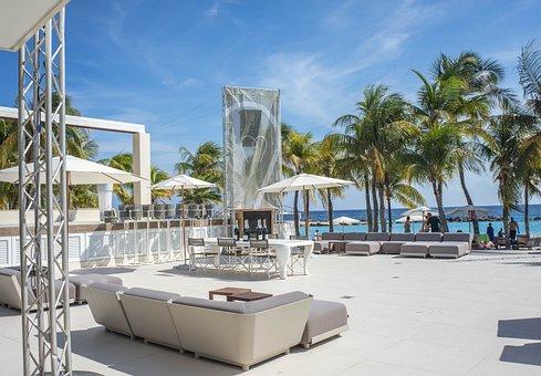 Beach, Tropical, White Sand, Curacao, Lagoon