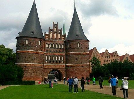 Monument, Landmark, Lübeck, Holsten Gate