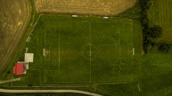 The Pitch, Sport, Football, Stadion, Grass, Match