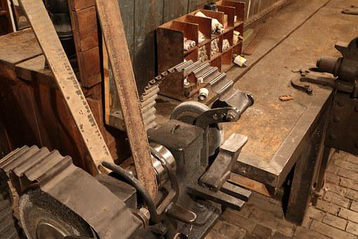 Museum, Textile, Industry, Machine, Mechanism, Factory