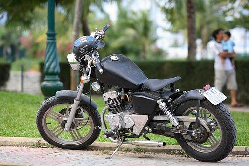 Motorbike, Vehicle, Motorcycle, Bike, Road, Transport