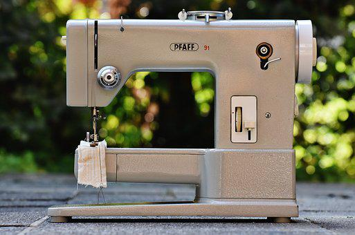Sewing Machine, Pfaff, Sixties, Old, Model 91, Sew
