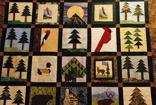 Quilt, Quilting, Lap, Patches, Textile, Crafts
