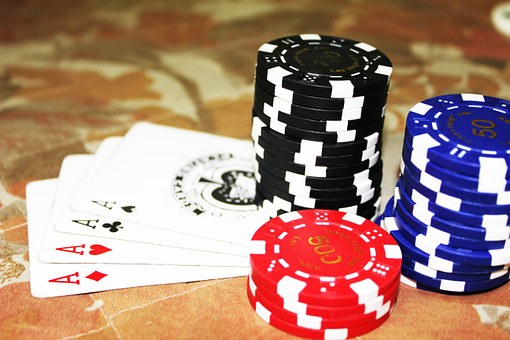 Poker, Cards, Aces, Chips, Gambling, Casino, Win, Game