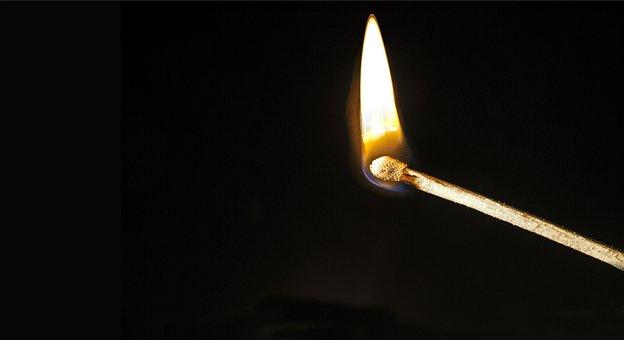 Match, Fire, Burn, Head, Schwefelkopf, Unfashionable