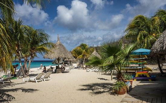 Curacao, Beach, Sea, Tropical, Blue, Travel, Ocean