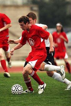 Soccer, Kicking, Action, Ball, Kick, Sport, Field