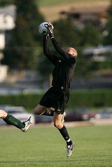 Soccer, Goalie, Goal Keeper, Stop, Ball, Football