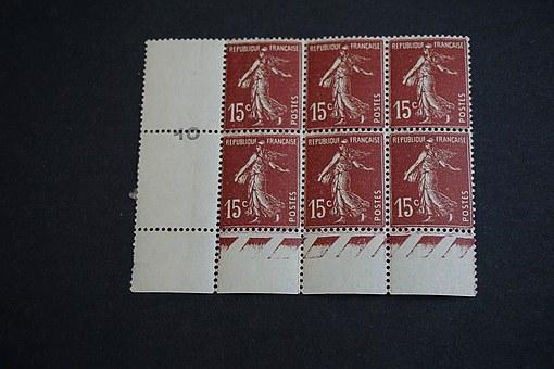 Stamps, Seeder, Philately, Collection