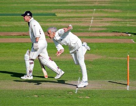 Bowler, Batsman, Cricket, Cricket Match, Stumps