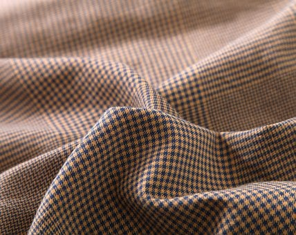 Houndstooth, Fabric, Brown, Textiles, Texture