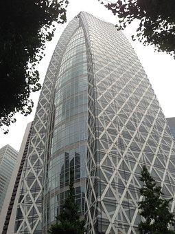 Mode Gakuen Cocoon Tower, Tokyo, Glass, Architecture