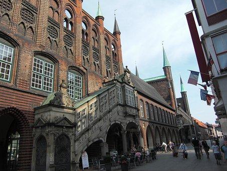 Lübeck, Hanseatic City, Town Hall, Historically