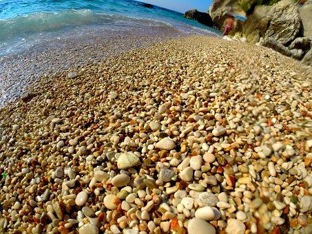 Rocks, Sand, Sea, Beach, Travel, Landscape, Sky, Island