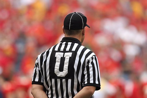 Umpire, Football, American Football, Sports Official