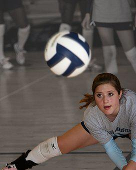Volleyball, Volley, Girl, Ball, Athlete, Game, Female