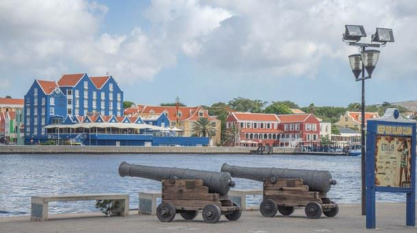 Curacao, Willemstad, Architecture, Buildings