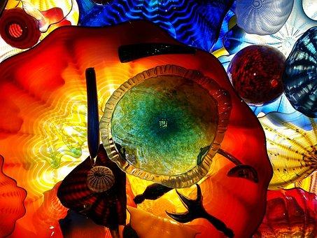 Glass, Art, Design, Window, Artwork, Decorative, Mosaic