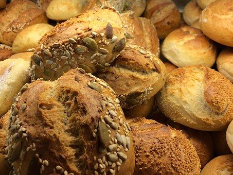 Roll, Weizenbroetchen, Bakery, Breakfast, Small Cakes