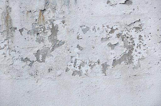 Wall, Disturbed, Structure, Damaged, Peeled, Old