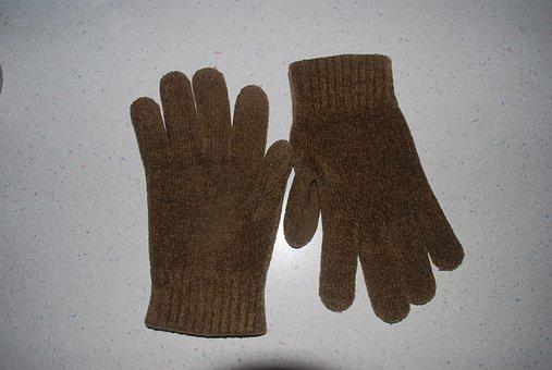 Glove, Gloves, Wool, Hand, Mitten, Knit, Pair