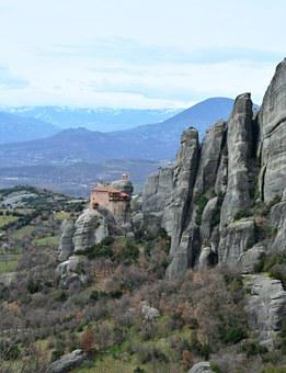 Greece, Meteora, Meteori, The Meteors, Meteora Greece