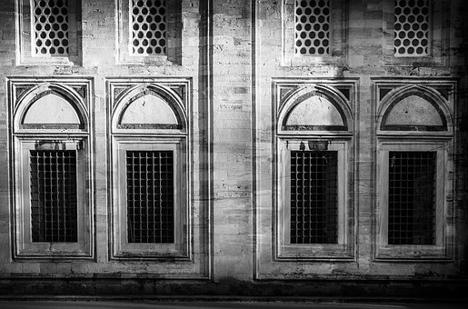 Building, Architecture, Light, Monochrome, Istanbul