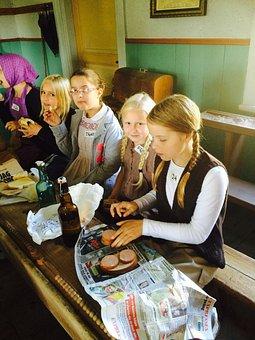 School, Sooner In Sweden, School Museum