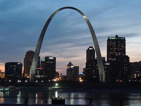 St Louis, St Louis Arch, Illinois