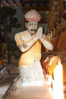 Prayer, Temple, Buddha, Sunlight, Sri Lanka, Worship