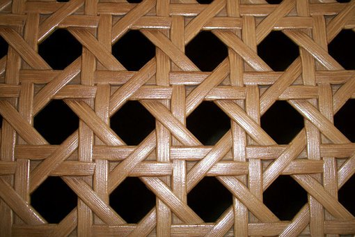 Basket Weave, Willow, Osier, Withies, Weave, Octagon