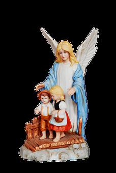 Christmas, Children Decorations, Angel, Guardian