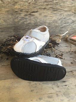 Shoe, Child, Baby, Sandal, Beach, Children, Kid, Nature