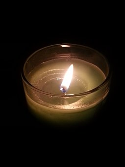 Second, Candle, Candlelight