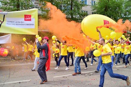 Day Of The City, Carnival, Holiday, Irkutsk