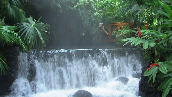 Costa Rica, Hot Water, Arenal Volcano, Travel, Paradise