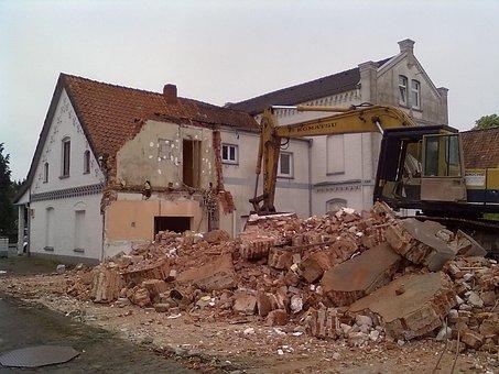 Abort, House Demolition, Demolition, Renovation