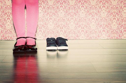 Shoes, Girl, Child, Legs, Feet, Children's Shoes