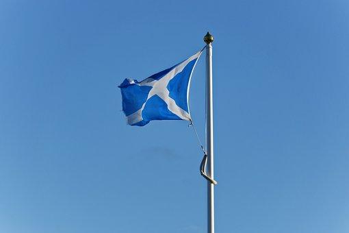 Saltire, Scottish Flag, Scotland, Scottish, Flag, Cross